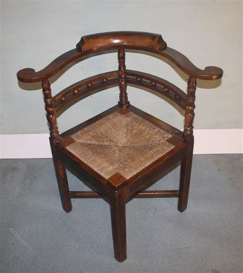 Corner Armchair by Georgian Oak Corner Chair Armchair 1800 Antiques Atlas