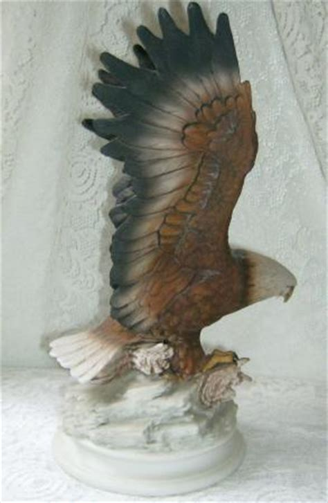 home interior masterpiece figurines home interiors 1979 eagle figurine statue homco masterpiece porcelain large size ebay