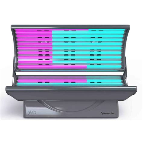 esb tanning bed esb grande 20 tanning bed lowest price free shipping