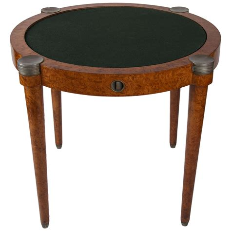 italian 1930 card top spin table at 1stdibs