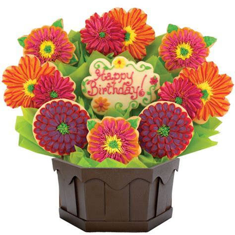 Cookie Flower Bouquet   Birthday Gift for Her   Cookies by