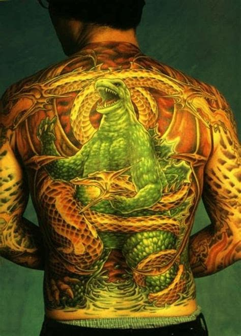 godzilla tattoos designs ideas and meaning tattoos for you