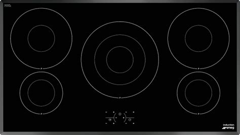 smeg ceramic induction hob buy smeg si3950b induction hob black ceramic glass marks electrical