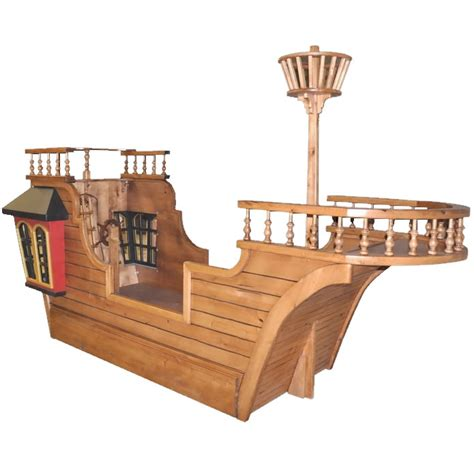 Pirate Ship Toddler Bed by Blackbeard S Pirate Ship Bed W Optional Trundle