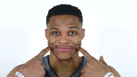 smiling gif westbrook smile gif by nba find on giphy