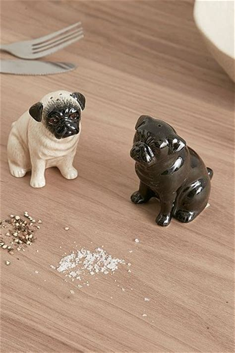 pug salt and pepper shakers pug salt and pepper shakers outfitters