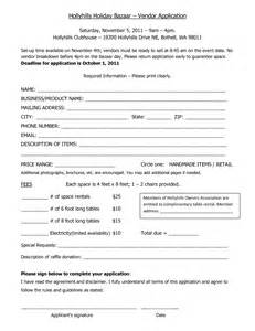 Vendor Application Template Free by Registration Form Word Template Event Registration Form