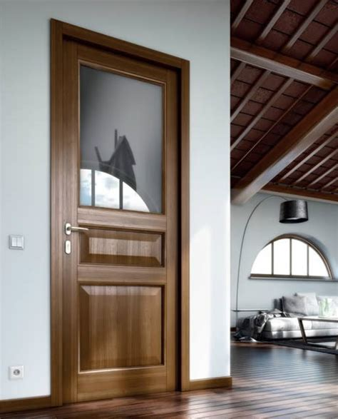 porte interne vetro e legno firenze porta interna in legno e vetro