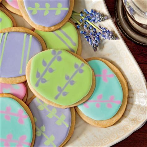 Living Room Cookie Recipe Easter Egg Shortbread Cookies