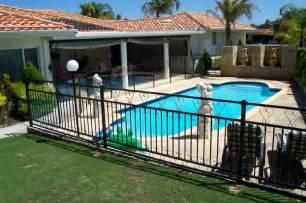 backyard pool fence ideas fabulous pool fencing ideas metal backyard modern home