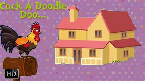 doodle doo nursery a doodle doo nursery rhymes sing along baby