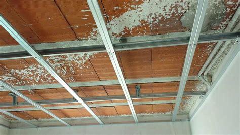 poner techo de pladur estructura de techo de pladur