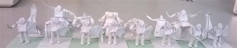 origami chess pieces by williamclinch on deviantart