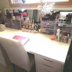 Makeup Vanity Storage Ideas Makeup Vanity Tables