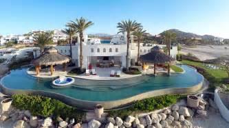 Glass Top Dining Room Set Ty Warner Mansion Luxury Resort Villa In Los Cabos