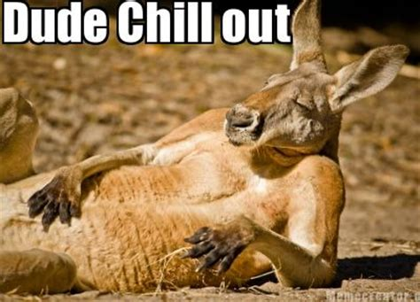 Chill Out Meme - meme creator dude chill out meme generator at