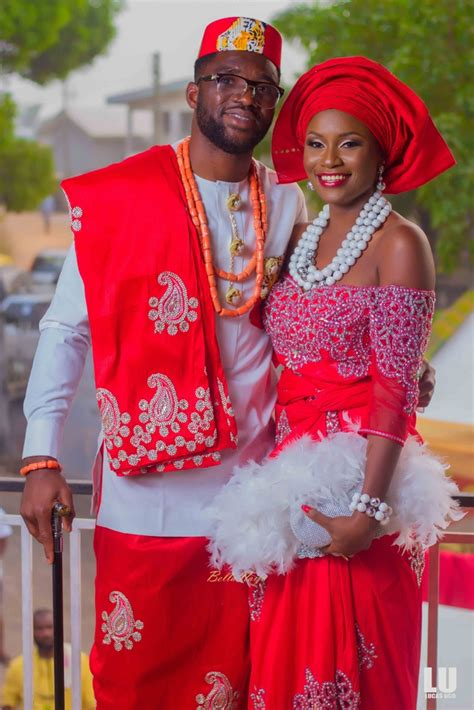 Traditional Wedding by Bn Weddings Eagles Keeper Daniel Akpeyi