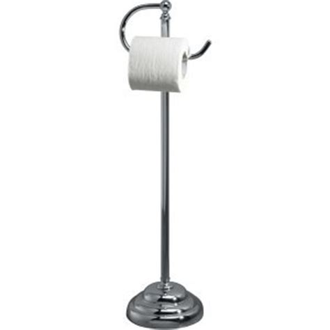 best free standing toilet paper holder amazon com valsan 53505cr chrome essentials free
