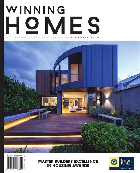 master homes 2015 master builders victoria winning homes magazine by