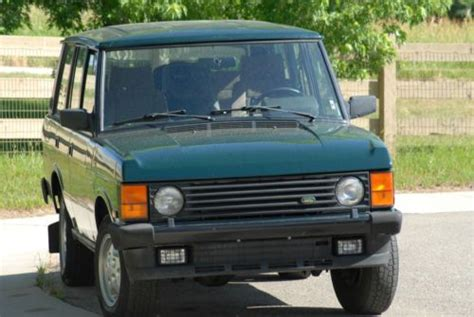 range rover hunter sell used 1991 land rover range rover hunter sport utility