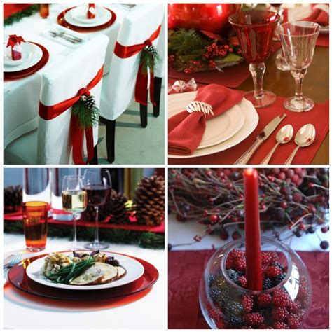 christmas table settings ideas christmas table decorations ideas for 2013