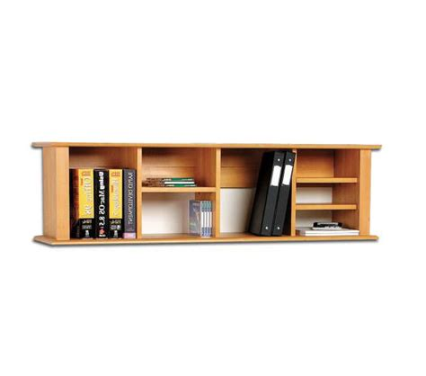 wall mounted desk hutch bookshelf by prepac