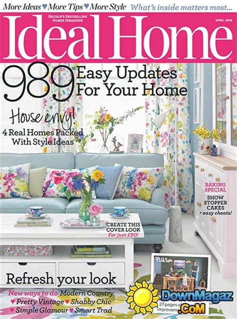 home and design magazine 2016 ideal home uk april 2016 187 download pdf magazines