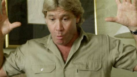 biography book on steve irwin yeah i think it s an absolute disaster by steve irwin