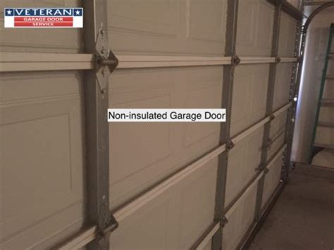 Non Insulated Garage Doors If I Add Insulation To My Garage Door Do I Need To Change My Springs As Well