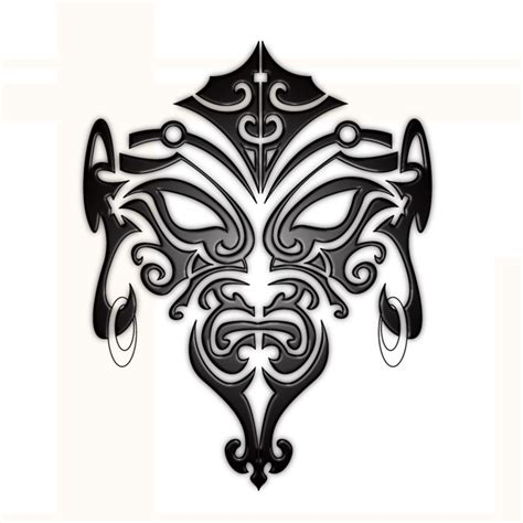 maori face tattoo by b rox u on deviantart