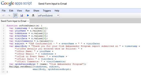 google form script tutorial sending confirmation emails with a google docs form alamoxie