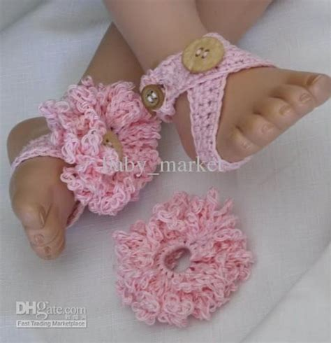 free crochet patterns for baby sandals crochet pattern baby shoes sandals flowers barefoot