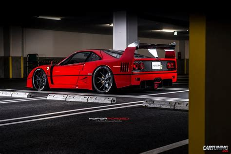 slammed f40 tuning f40 rear