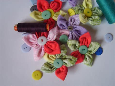 How To Make Handmade Fabric Flowers - mckayla me fabric flowers