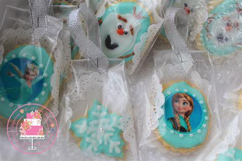 Cetakan Coklat Frozen Min Order 3 Pcs floral cake shop frozen theme fancy cookies