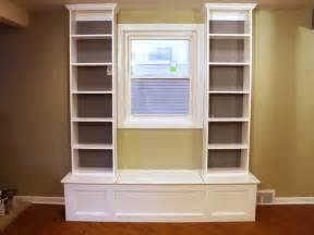 How To Build A Window Seat With Bookshelves How To Build A Window Bench With Shelving How Tos Diy