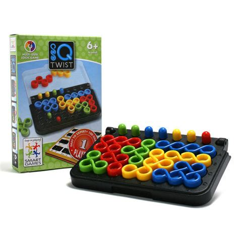 Smart Games Iq Twist Toy At Mighty Ape Nz Smart Puzzle