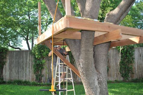 large tree house plans pdf treehouse platform plans plans free