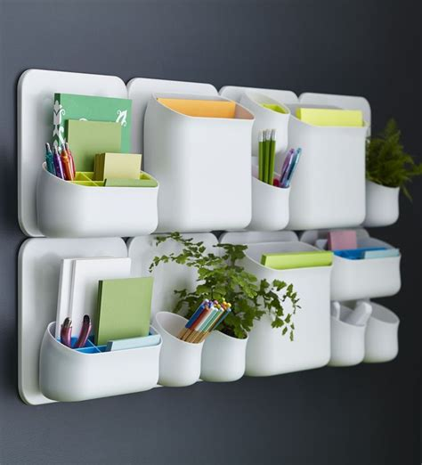 Container Store Desk Organizer 1000 Ideas About Desk Wall Organization On Pinterest Desk Storage Storage For Craft Room And
