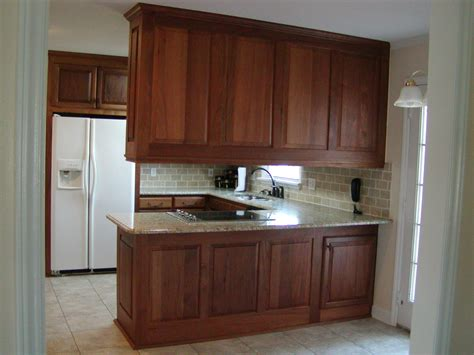 Kitchen Cabinets Mahogany Plush Small Kitchen Furnitures Ideas Added Ceiling Mahogany Cabinets Feat Refrigerator Shelves