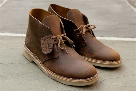 clarks beeswax desert boot clarks desert boot leather beeswax from kith shoes and