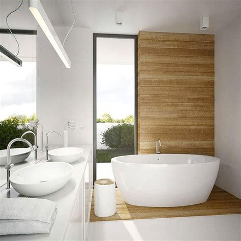 arredamento bianco e legno bagno bianco e legno 20 idee di arredo dal design moderno