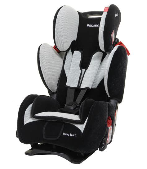 si鑒e auto recaro sport recaro sport car seat black silver ex showroom