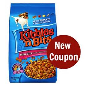 printable coupons and deals kibbles n bits dog food kibbles bits dog food coupon only 2 99 at weis ftm