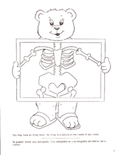 x ray printable coloring pages clever sprouts preschool x is for x ray