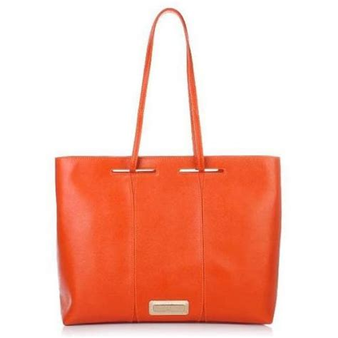 Taschen Michael Kors 1067 by Lamarthe Fontana East West Shopping Arancio