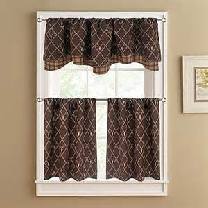 deer valance buy oh deer layer window valance in brown from bed
