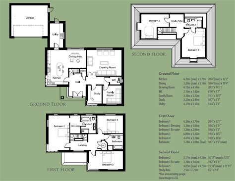 Green Home Floor Plans parklands house types