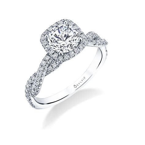 ava modern spiral engagement ring with halo 2 s1723