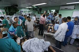 south emergency room israeli bulldozers destroy hamas tunnels in gaza daily mail